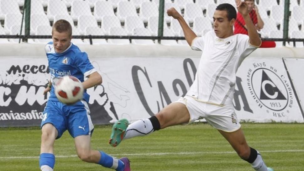 Левски и Славия завършиха 0:0 при децата
