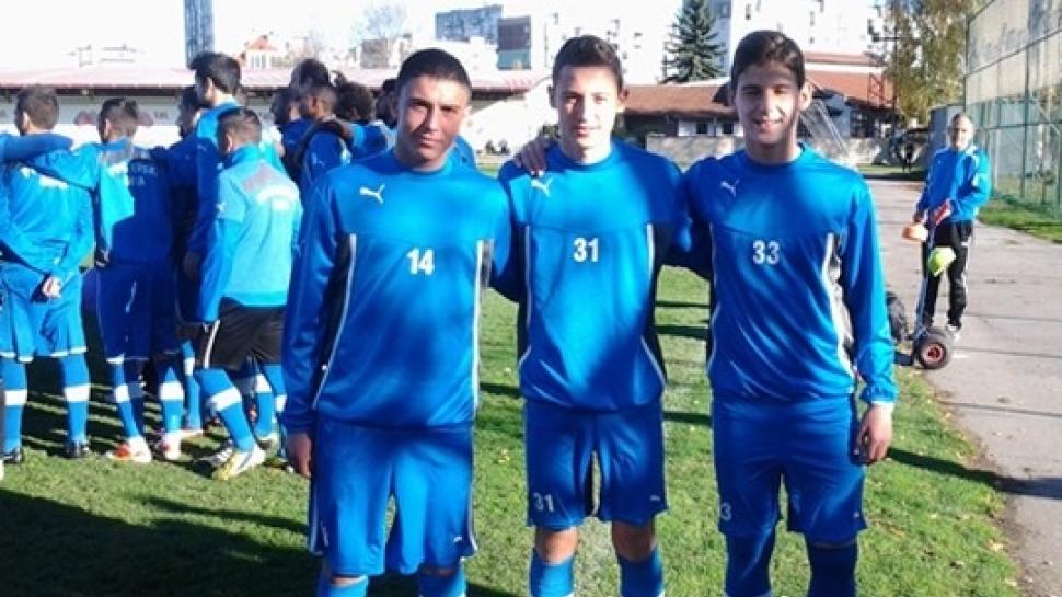 Алекс Боримиров, Георги Янев и Илиян Стефанов тренират с мъжкия тим