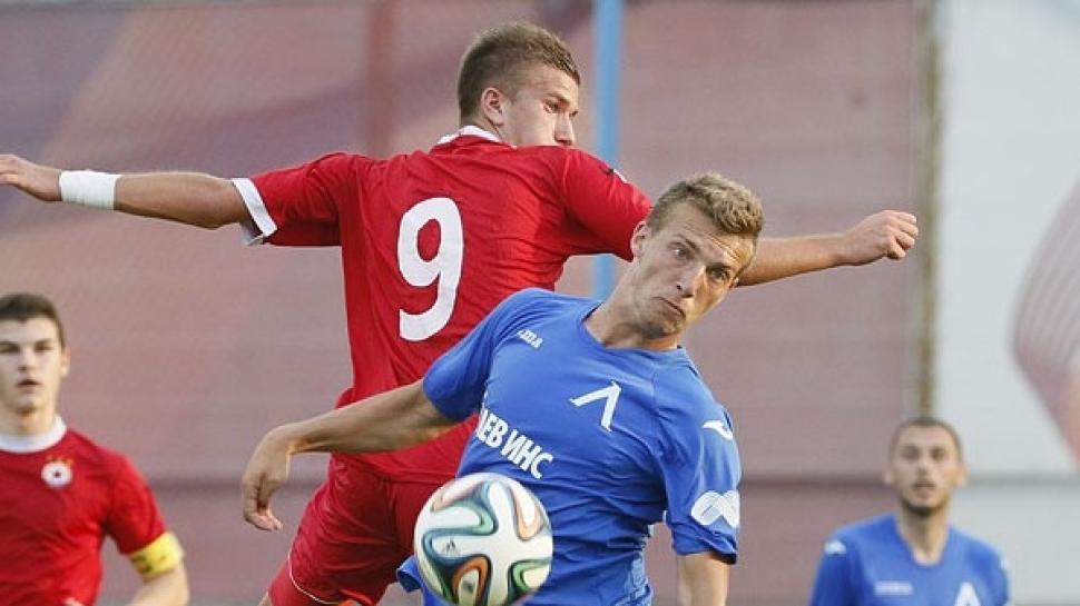 Левски и ЦСКА завършиха наравно в дербито на Младежката група U21
