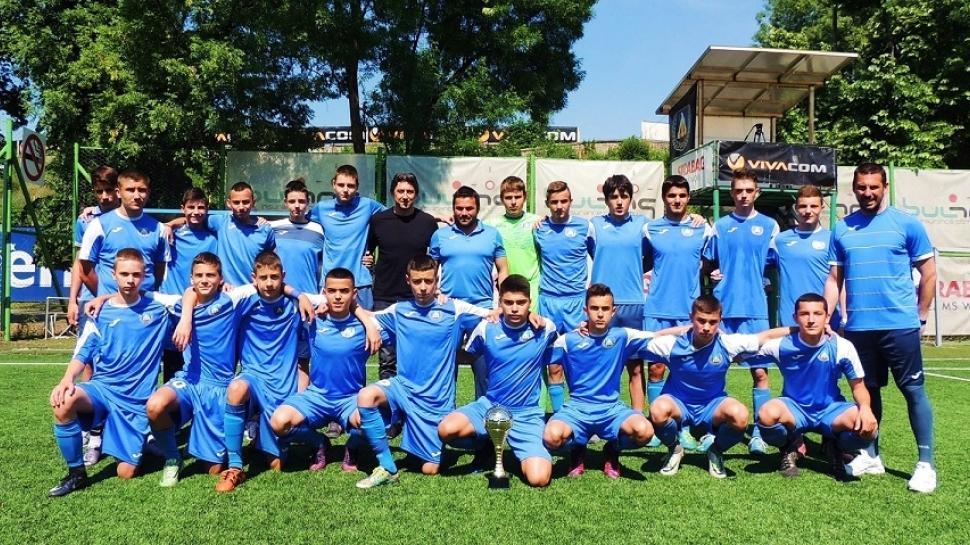 ЛЕВСКИ U15 шампион с 18 точки преднина, 27 победи и 133 отбелязани гола