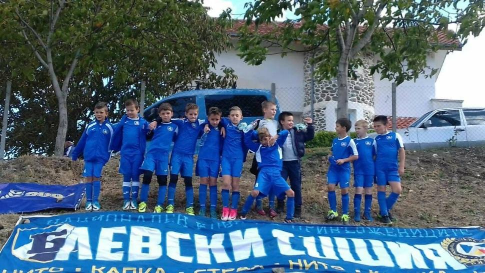 Децата на ЛЕВСКИ с първо място на футболния турнир в Самуилово