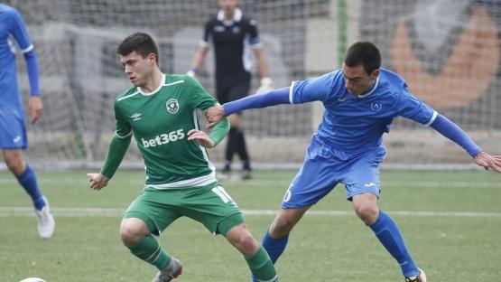ДЮШ на ЛЕВСКИ класира три отбора на ½-финалите в турнира за купата на БФС