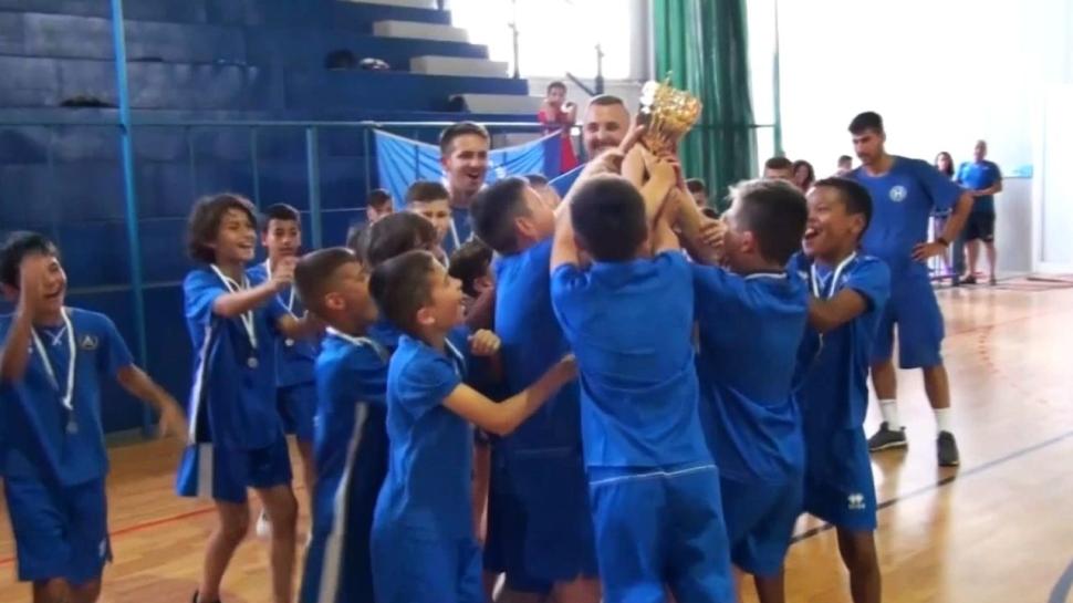 """Децата на """"Левски"""" триумфираха на турнир в Гърция"""